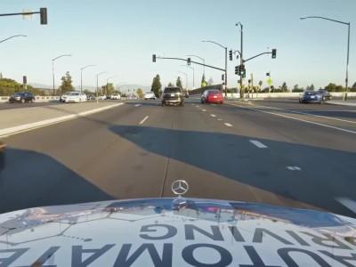 Δοκιμές αυτόνομης οδήγησης από την Mercedes-Benz στο San Jose