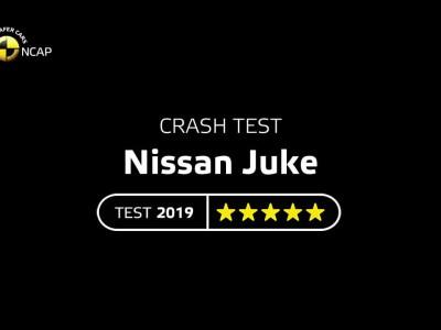 Δοκιμές Euro NCAP για το Nissan Juke 2019
