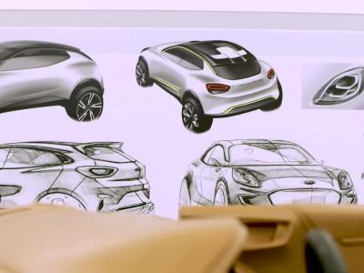 To νέο Ford Puma και ο Έλληνας σχεδιαστής του