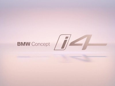 The new BMW i4 Teaser
