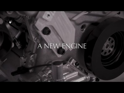 Aston Martin V6 Engine Announcment