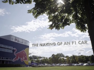 Aston Martin Red Bull Racing - How To Make An F1 Car: COMPOSITES