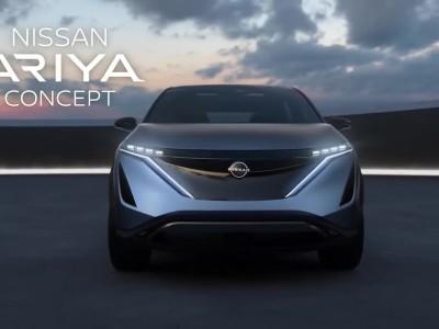 Η σχεδίαση του Nissan Ariya concept