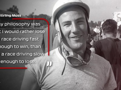 FORMULA 1 -  'He Became An Icon' - Stirling Moss In Quotes