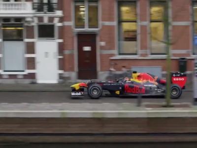 Red Bull F1 Dutch streets