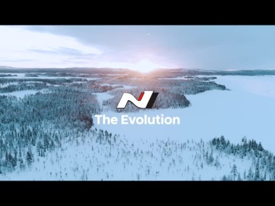 New Hyundai i20 N with Thierry Neuville