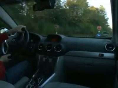 Opel Antara facelift interior
