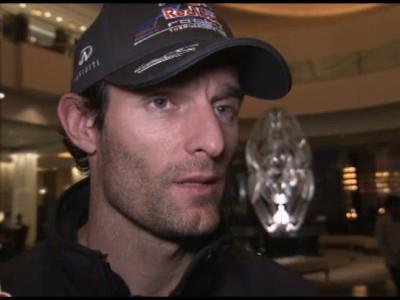 Mark Webber Interview