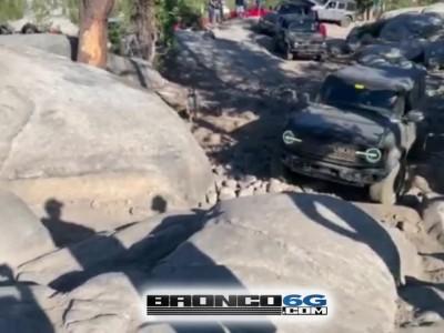 Κατάφερε το νέο Ford Bronco να διασχίσει τους ογκώδεις βράχους;