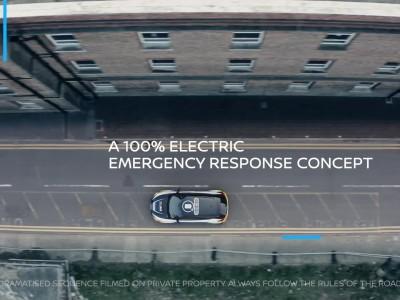 Το ηλεκτρικό όχημα άμεσης επέμβασης Nissan Re-Leaf