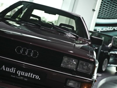40 χρόνια Audi quattro: 100 CS vs S5