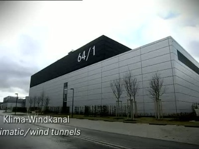 Mercedes climatic wind tunnel