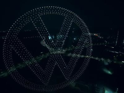 Πρεμιέρα για το VW ID.4 στην Κίνα με 2.000 drones