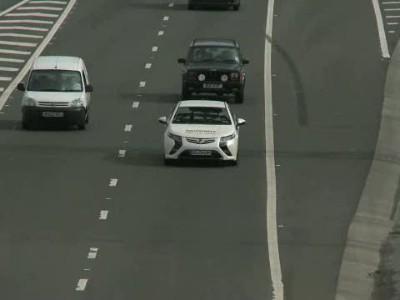 Vauxhall Ampera long-distance drive