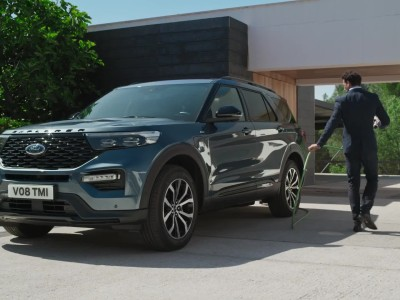 Ford Explorer Plug-in Hybrid 2021