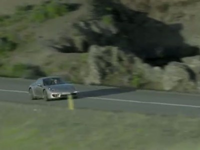 2012 Porsche 911 in motion