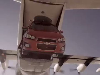 Chevy Sonic | Stunts | Skydive 1