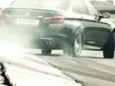 BMW M5 - Twin-Turbo V8 Engine