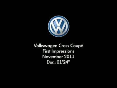VW Cross Coupe SUV Concept