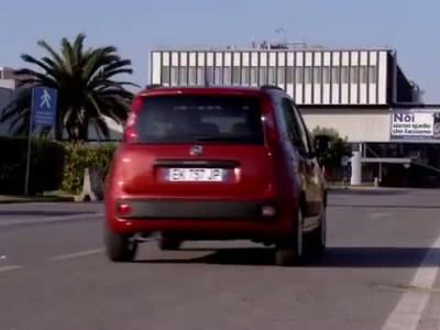 Fiat Panda footage