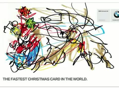 BMW_An extremely Fast Christmas card