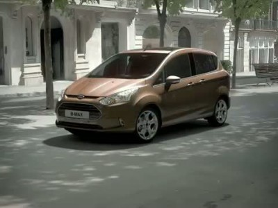 Ford B-MAX animation
